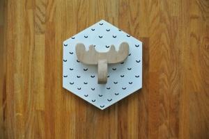 moose head pattern