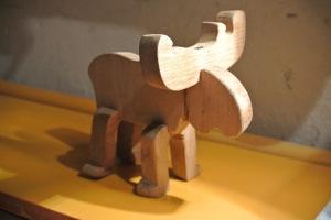 scandinavian wooden toy